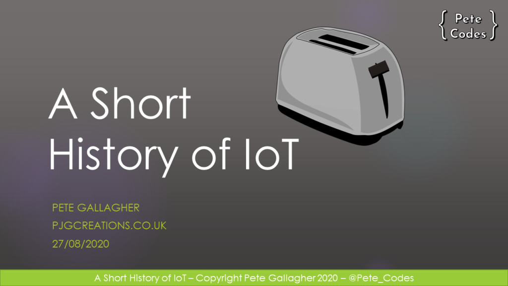 History Iot – August 2020