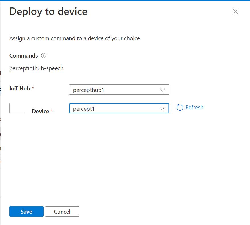 Speech Studio - Deploy to Device